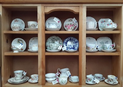 Cups and Saucers Galore!